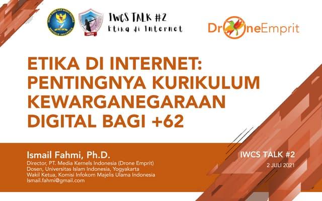ETIKA DI INTERNET: PENTINGNYA KURIKULUM KEWARGANEGARAAN DIGITAL BAGI +62