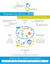 ICT 2013: Better Society: empowering Horizon 2020 with trustable social media