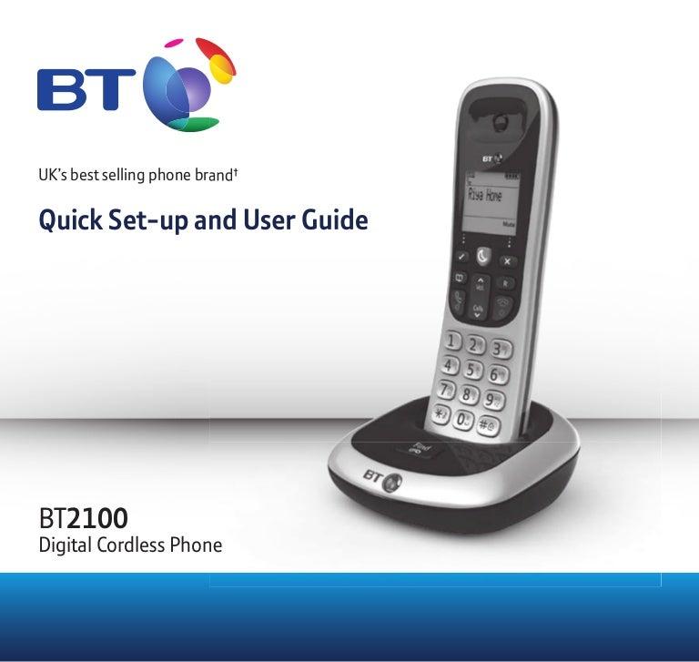 Bt 8500 digital cordless phone with advanced call blocker.