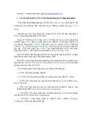 Bt chương 5.3. fta và vải nhập khẩu