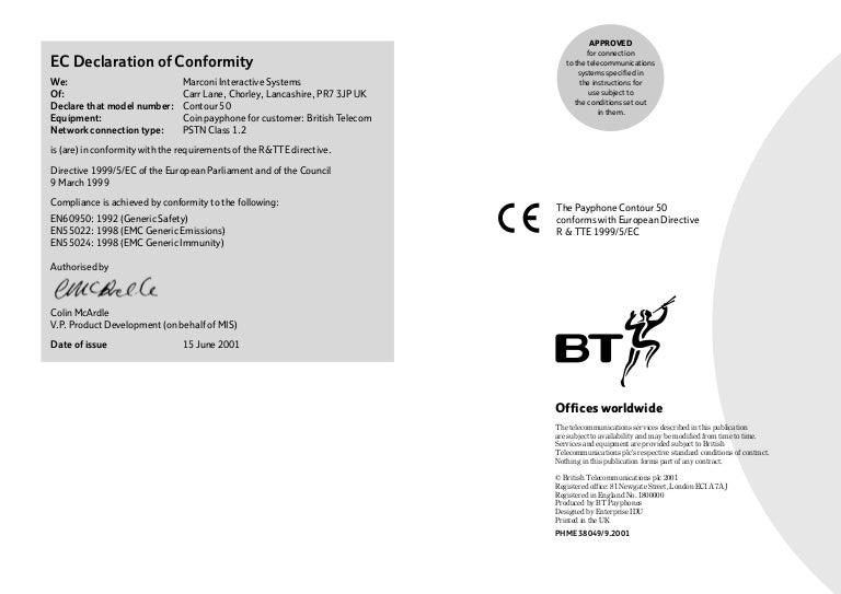 bt contour 50 user manual from telephones online www telephonesonlin rh slideshare net Hammerhead 54 Hammerhead 54