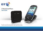 BT Home Smartphone Digital Cordless Telephone User Guide