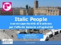 Italic People, nuove opportunità di business per l'offerta Salento e Puglia365