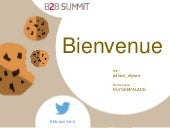 Marketing btob summit 2015 : adoptez la data 'ttitude