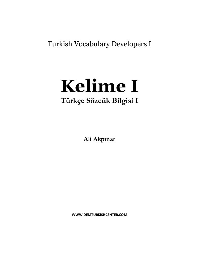 Easy Turkish | Download PDF for Free