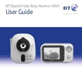 BT Video Baby Monitor 1000 User Guide
