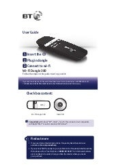 BT Wi-Fi Dongle 300 User Guide