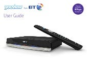 BT Youview Plus Set Top Box User Guide