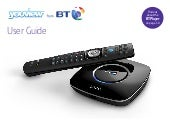 BT Youview Zapper Smart TV Box User Guide