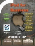 Buchanan County iPad for Business Workshop, July 23, 2013