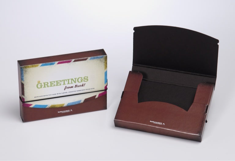 Holiday greeting card packaging m4hsunfo