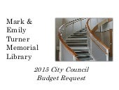 2015 Library Budget Presentation