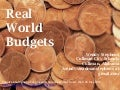 Real World Budgets -- AASL Preconference, ALA 2013