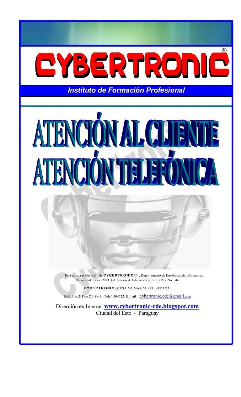 Buena atencion al publico cybertronic