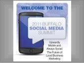 Buffalo Social Media Summit Presentation