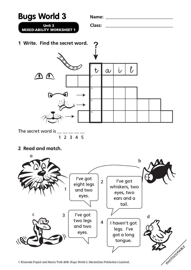 bugs world 1 testy do pobrania