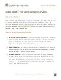 Build An RFP For Web Design Services