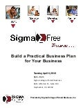 Build A Practical Business Plan Handout