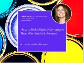 How to Build Campaigns That Win Hearts & Awards