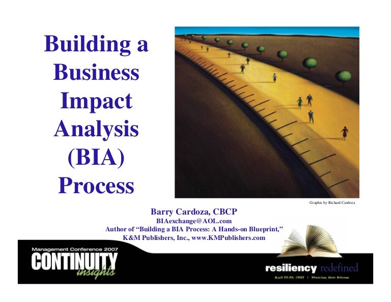 Building a business impact analysis bia process a hands on blueprint flashek Image collections