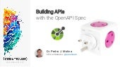 Building APIs with the OpenApi Spec