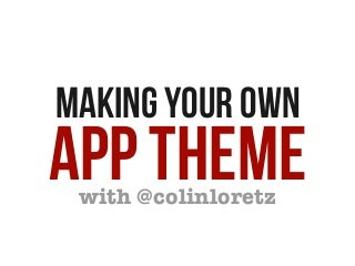 Building App Themes for WordPress