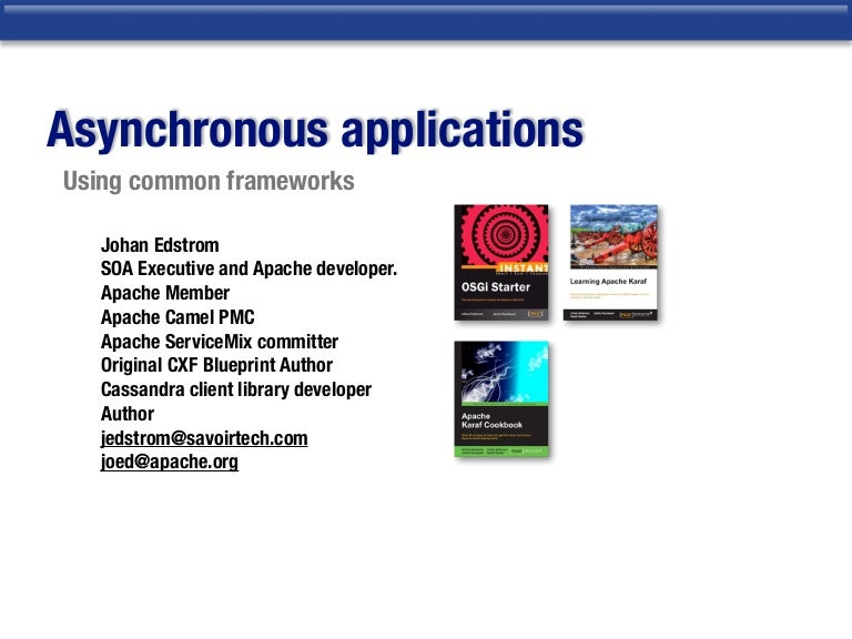 Building asynchronous applications malvernweather Gallery