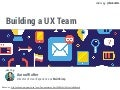 Building a ux team