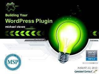 Building a WordPress Plugin