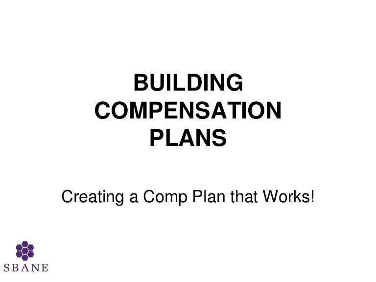 Building Compensation Plans