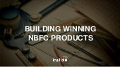 Building Digital NBFC Products