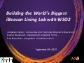 Building the World's Biggest iBeacon Living Lab with WSO2