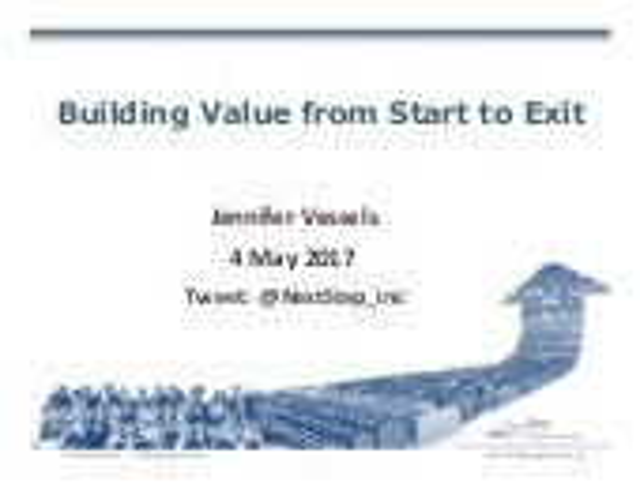 Building valuestarttoexit0517