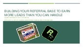 Building Your Referral Base to Get More Leads
