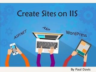 Build sites on iis
