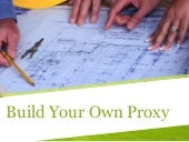 Building Your Own Proxy