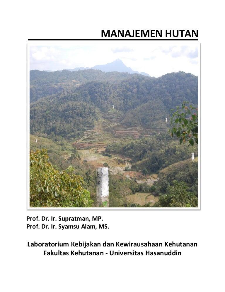 Manajemen kawasan konservasi