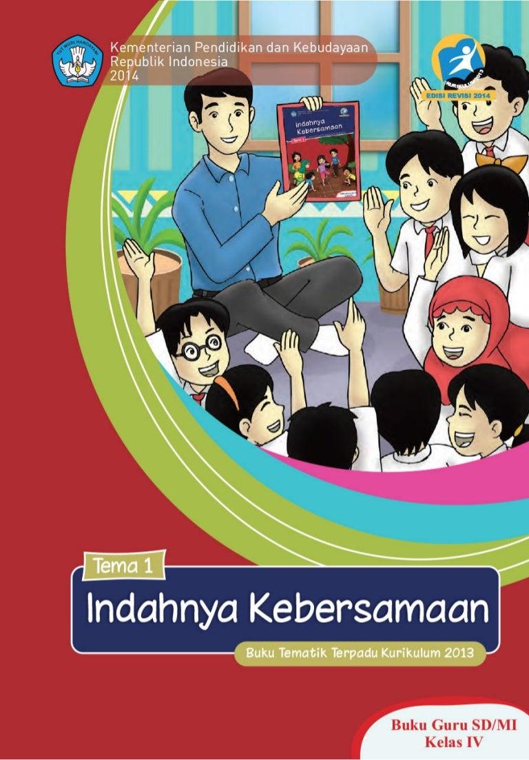 Buku Guru Tema 1 Kelas 4