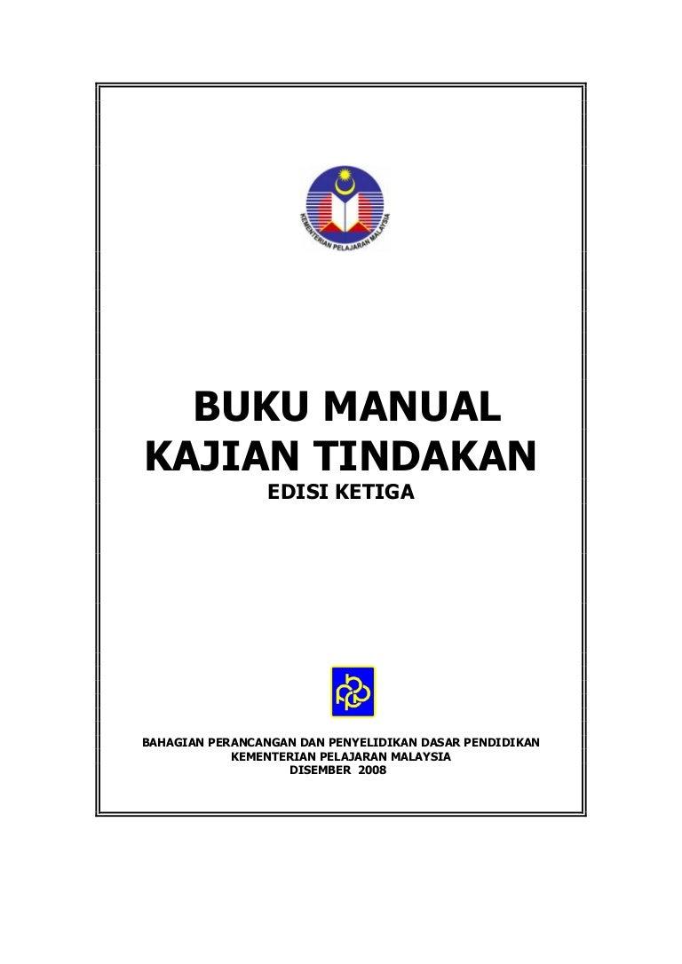 Buku Manual Kajian Tindakan