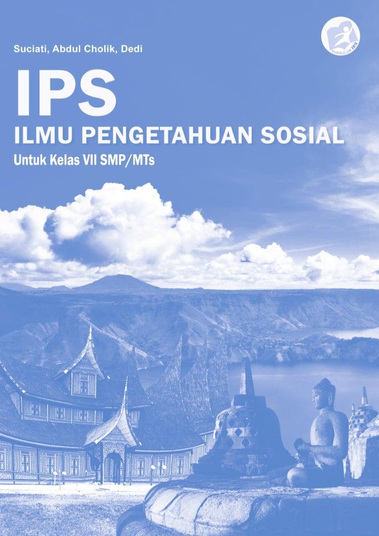 Buku Mata Pelajaran Ilmu Pen Ahuan Sosial Smp M Ts Ips