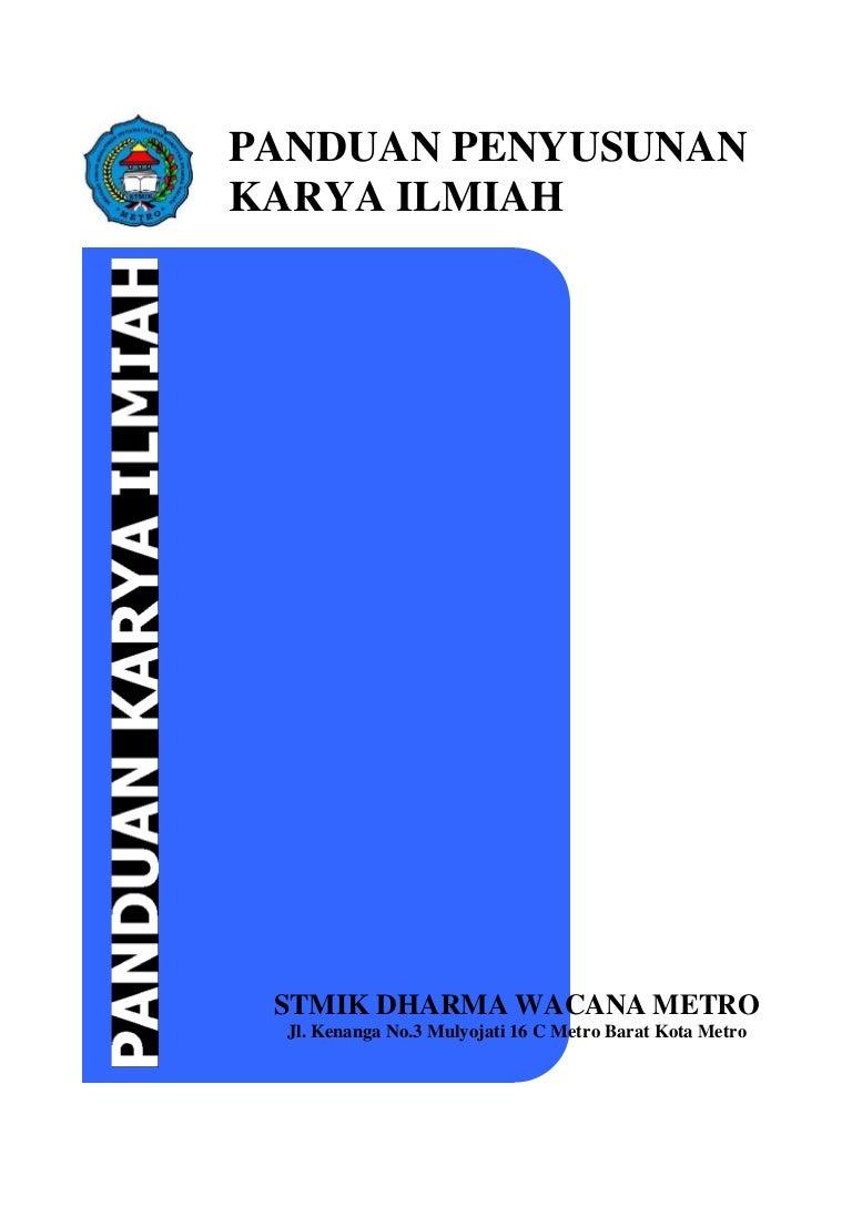 Buku panduan skripsi fix 2014