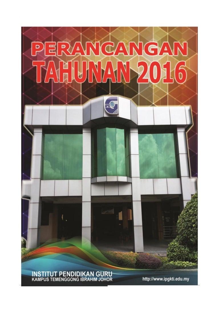 Buku Perancangan Ipgkti 2016