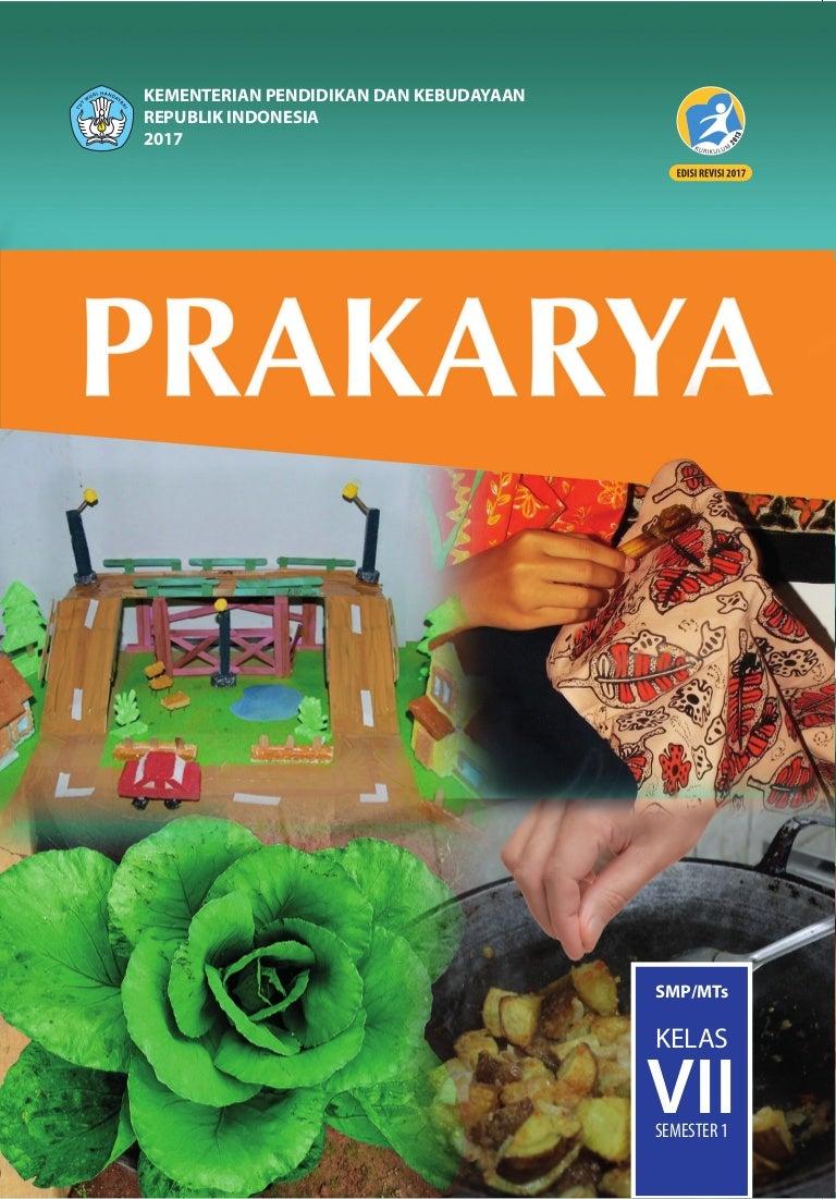 Buku Siswa Prakarya Kelas 7 Kurikulum 2013 Revisi 2017
