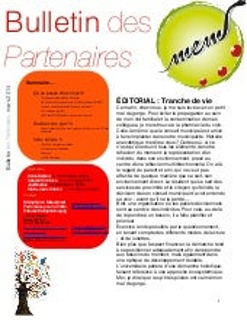 Bulletin MeM PPEM mars 2014