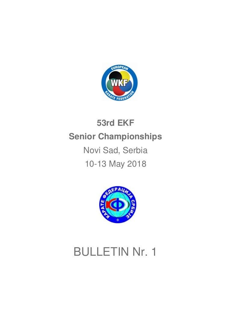 Bulletin Ekf Novisadnr1
