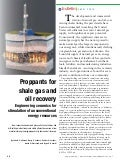 American Ceramics Society Bulletin Article on Converting Industrial Waste into Shale Drilling Proppants
