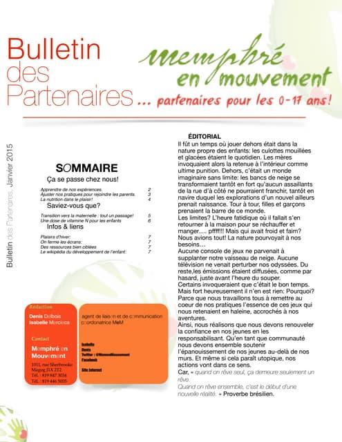 Bulletin MeM janvier 2015