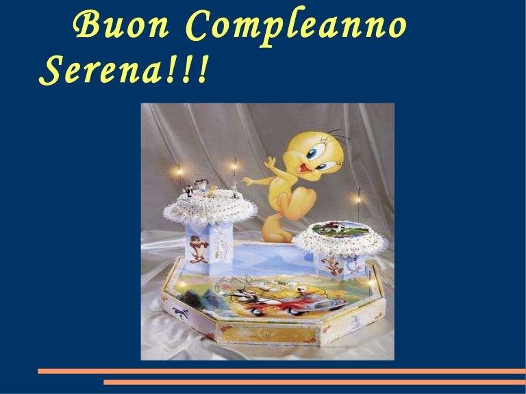 Buon Compleanno Serena