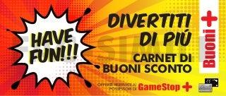 Buoni+ Novembre 2015 GameStop Italia