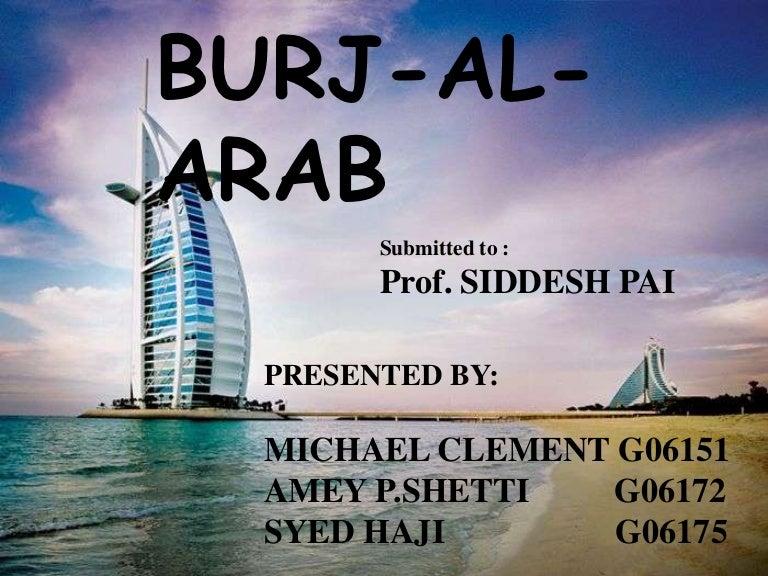 burj al arab plan
